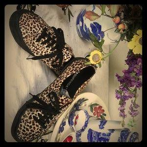 Superga Leopard print sneakers